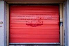 Closed surf shop